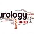 Neurology word cloud concept
