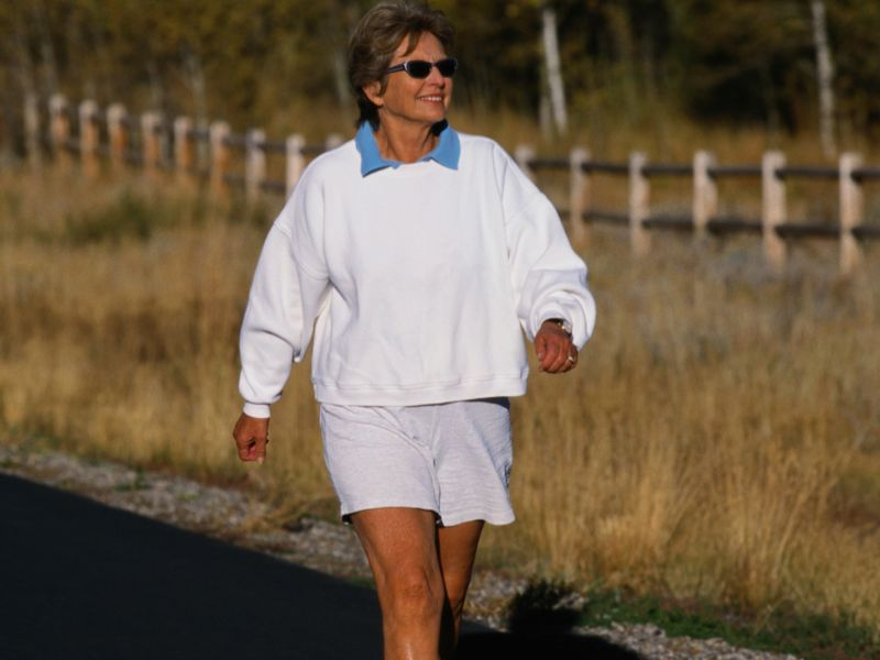 Even a Little Walking Can Lengthen Your Life